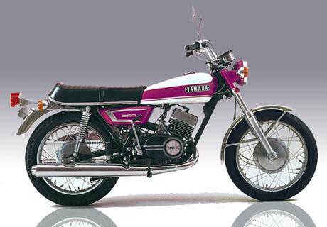 1970 Yamaha RX 350